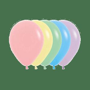 Öko-Luftballons Pastell-Farben