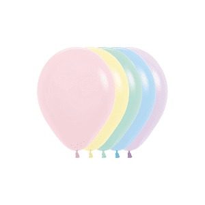 Öko-Luftballons Samtmatte Farben