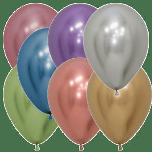Luftballons Chromglanz-Farben