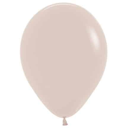 Bio Luftballon 30cm weißer Sand
