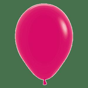 Bio Luftballon 30cm Himbeere