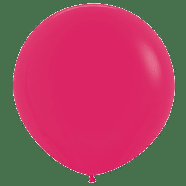 Bio Riesen-Luftballon 60cm Himbeere
