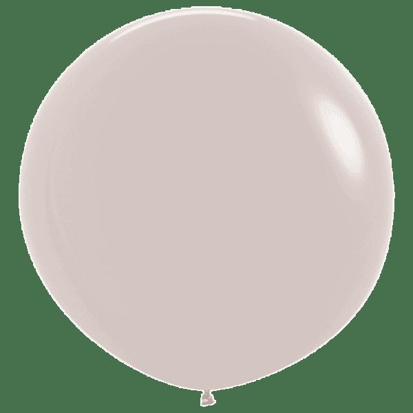 Bio Riesen-Luftballon 60cm Weißer Sand