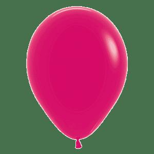 Bio Mini-Luftballon 12cm Himbeere