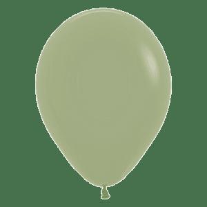 Bio Mini-Luftballon 12cm eucalyptus