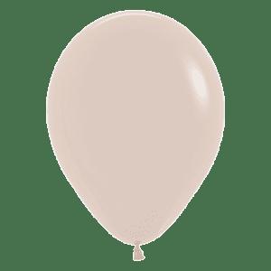 Bio Mini-Luftballon 12cm Weißer Sand
