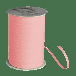 Rosafarbenes Bio-Geschenkband aus Baumwolle