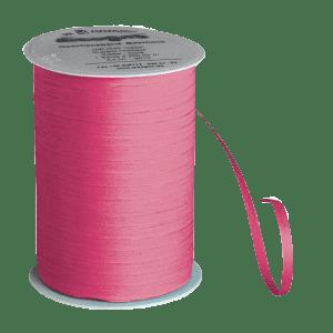 Pinkes Bio-Geschenkband aus Baumwolle