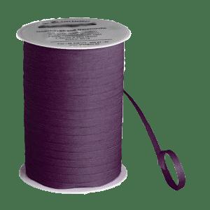 Weinrotes Bio-Geschenkband aus Baumwolle