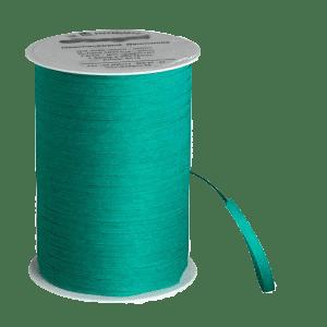 Waldgrünes Bio-Geschenkband aus Baumwolle