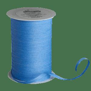 Hellblaues Bio-Geschenkband aus Baumwolle
