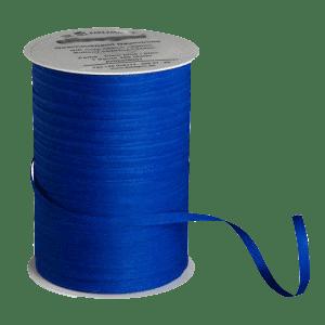 Königsblaues Bio-Geschenkband aus Baumwolle