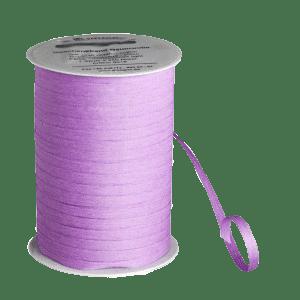 Fliederfarbenes Bio-Geschenkband aus Baumwolle
