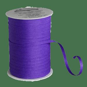 Violettes Bio-Geschenkband aus Baumwolle