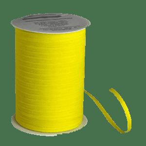 Zitronengelbes Bio-Geschenkband aus Baumwolle