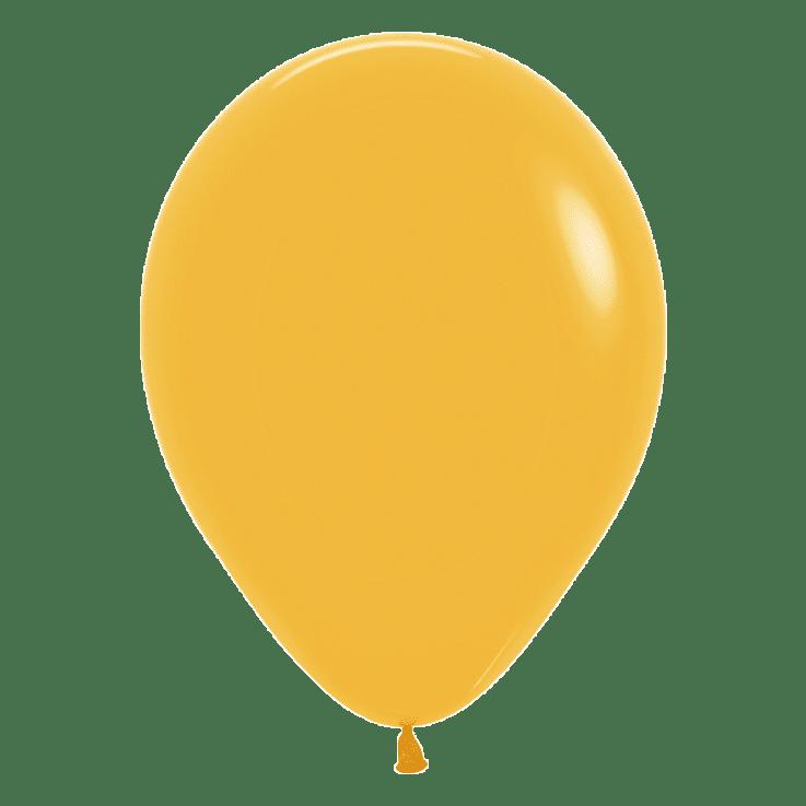 Bio-Luftballon senf 30 cm