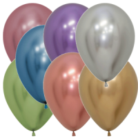 Luftballons Reflex-Farben